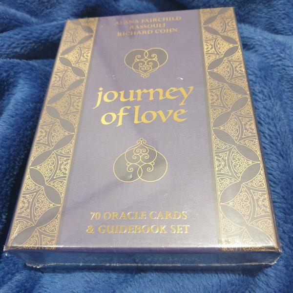 Journey of Love Oracle Cards & Guidebook Set